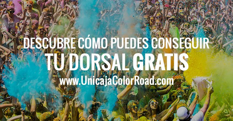 Consigue tu dorsal Unicaja Color Road