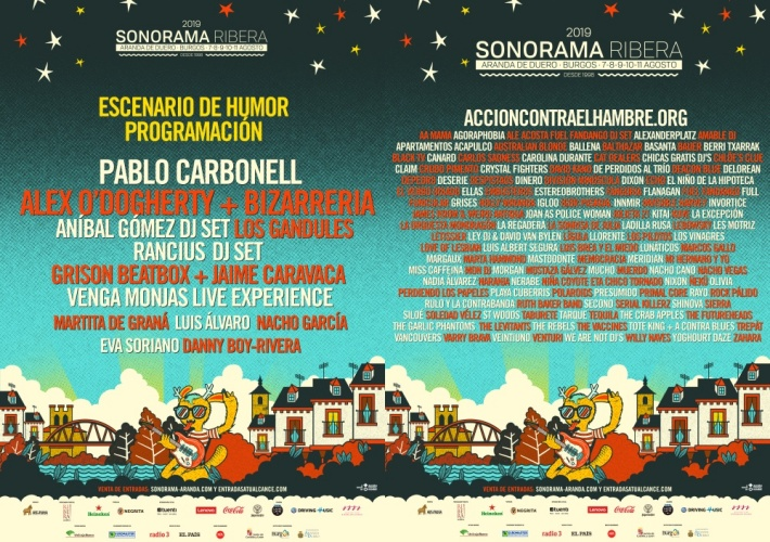 Sonorama cartel