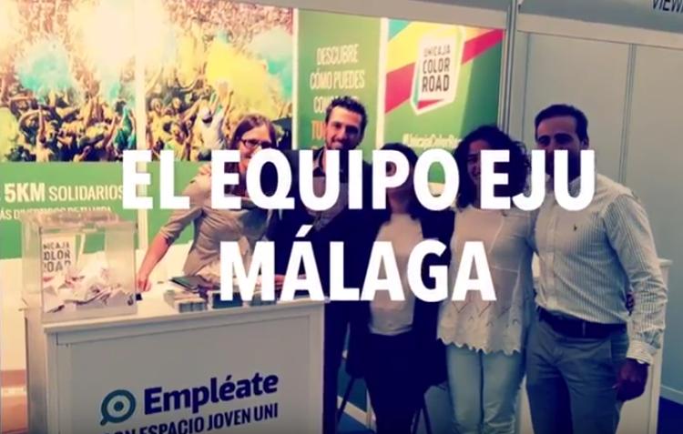 Vídeo resumen: Equipo EJU en la Feria de Empleo UMA