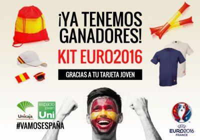 Ganadores kit euro2016