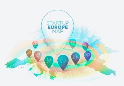 Startup Europe Map