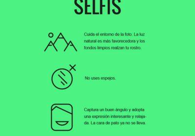 5 claves para tus mejores selfis