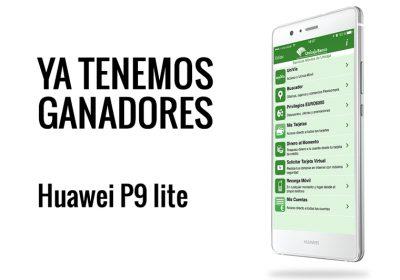 Ya tenemos ganadores de los tres Huawei P9 lite