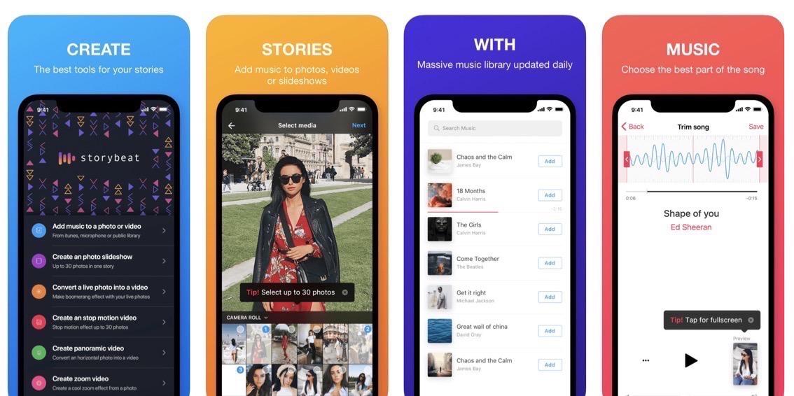 Tengas Android o iPhone, estás de suerte: Storybeat le pone banda sonora a tus 'stories', ¡en un pispás!