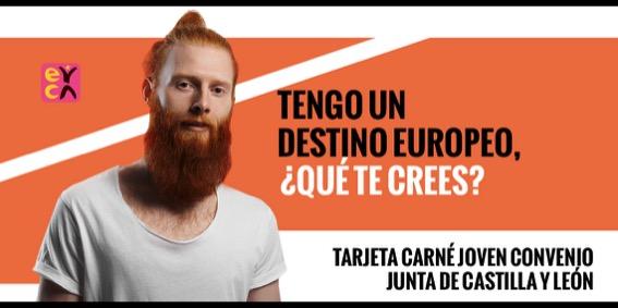 Un sinfín de ventajas y descuentos con tu Tarjeta Carné Joven Europeo de la Junta de Castilla y León