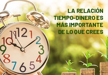 La relación tiempo-dinero es más importante de lo que crees
