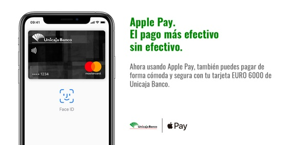 Unicaja Banco Apple Pay